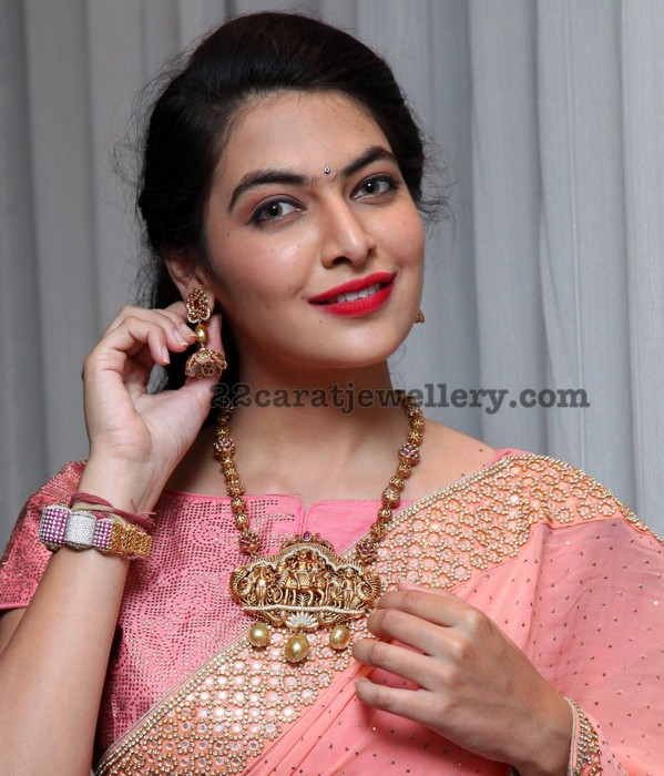 Supraja Reddy in Antique Long Chain