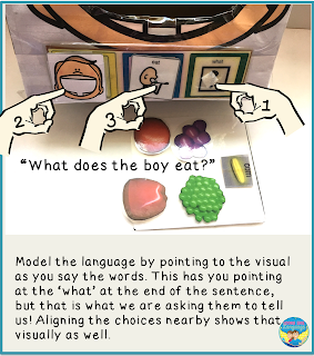More shoebox play ideas from Looks Like Language!
