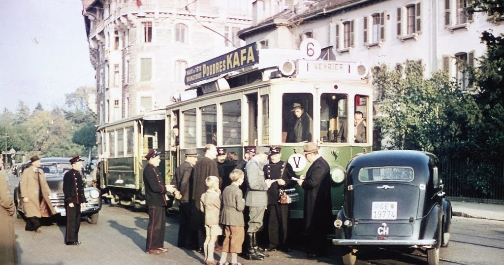 The Post War Photos In Color 1946 Vintage Everyday