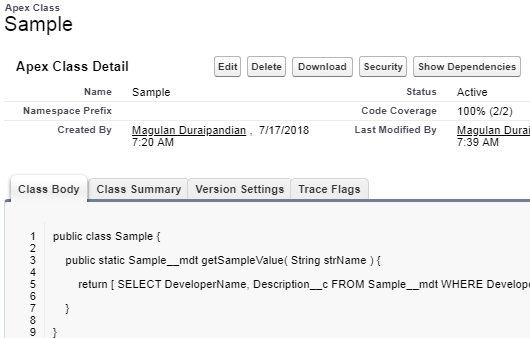 Infallible Techie: Code Coverage for Custom Metadata Type