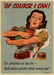 WW2 Recycle Cans Poster