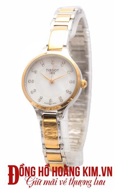 đồng hồ tissot nữ dây sắt