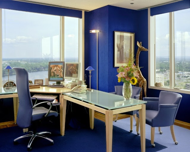 wall colour ideas for office