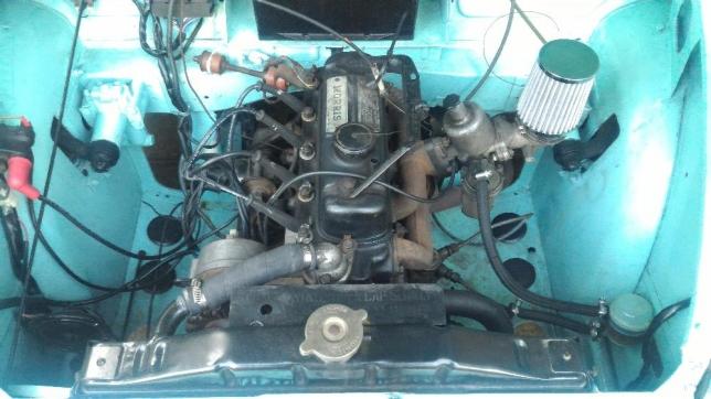 mesin Morris Minor Tahun 1951