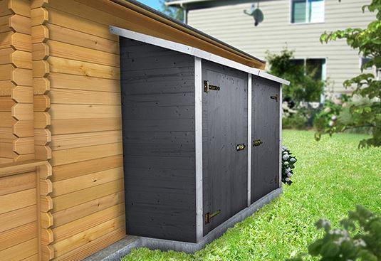 Marzua armarios de exterior - Armario exterior resina ...