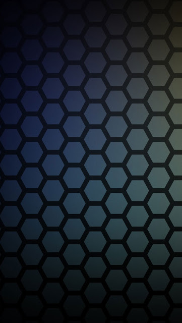 iPhone 5 Wallpaper - Honeycomb Pattern