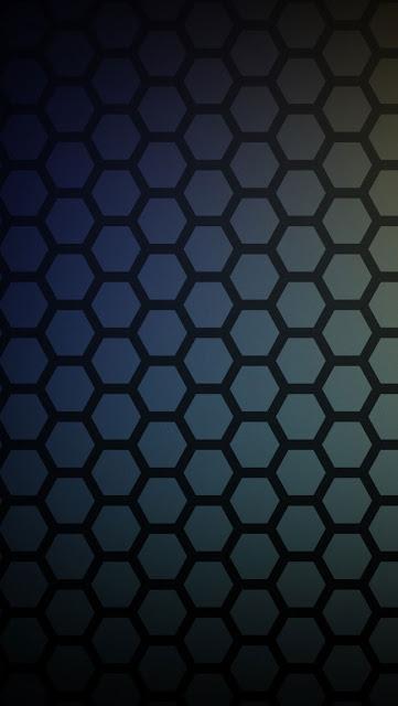 iPhone 5 Wallpaper - Honeycomb Pattern