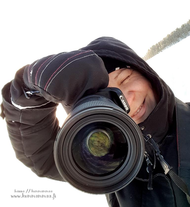 oma kuva selfie hanna kommammaa