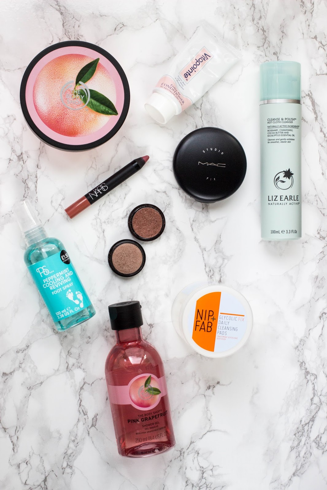 Flatlay, Flat lay, Marble Background, Beauty Blogs, Favourites, Monthly Favourites, Katie Brown Belper, Katie Writes Blog, Derbyshire Bloggers, East Midlands Blogs, Midlands Bloggers, Katie Writes,