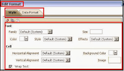 Condition formatting in OBIEE 11g
