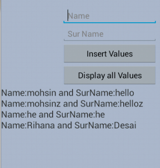 Android SQLite Database Tutorial and Project | Coders Hub: Android