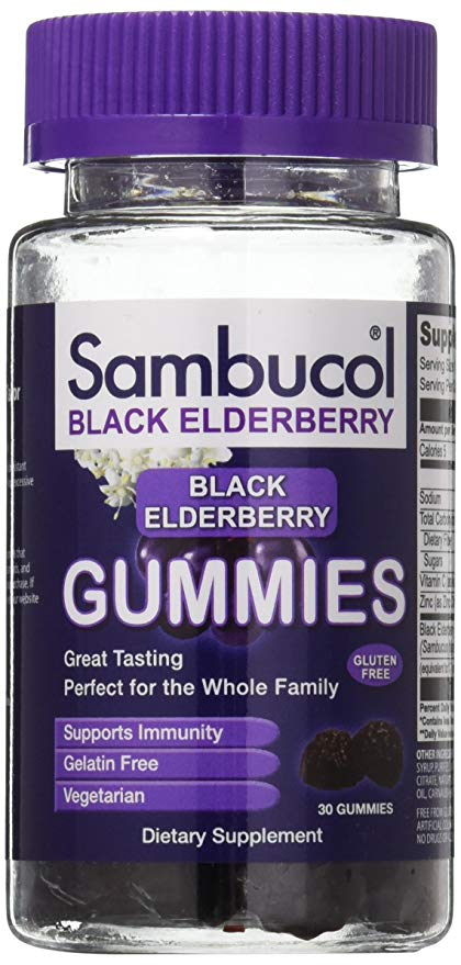 Sambucol elderberry gummies support your immune system