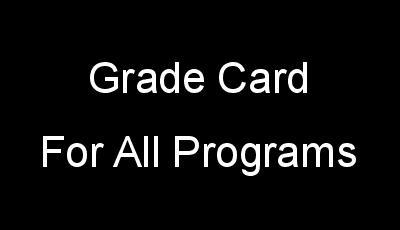 Grade Card For All IGNOU Programs