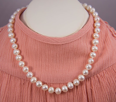 classic white pearl jewelry necklace pearl strand bridal bridal jewelry wedding etsy handmade