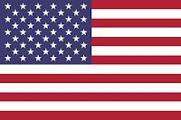 Le Chameau Bleu - Drapeau USA