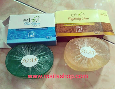 khasiat manfaat ERSHALI FISH COLLAGEN SOAP