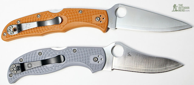Spyderco HAP40 Endura - Comparison 2