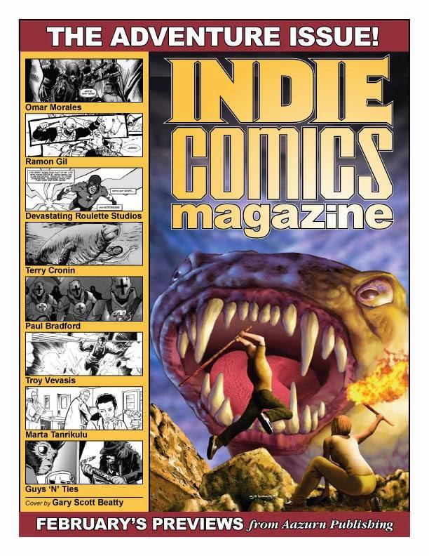 INERTIA PUBLICATIONS: INDIE COMICS MAGAZINE #9 - THE ...
