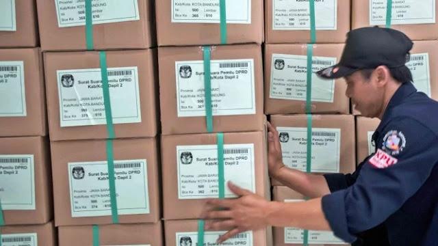 Duh! Bawaslu Temukan 2.400 Surat Suara Nyasar ke Hong Kong