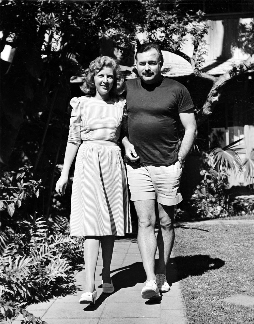 Martha Gellhorn and Hemingway