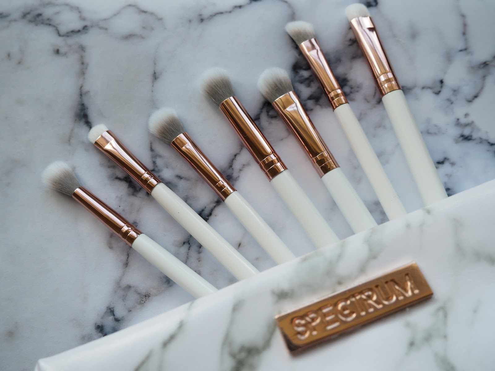 It's Cultured Marble Spectrum Makeup Brushes Blog Review