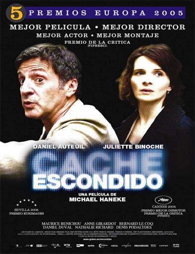 Ver Escondido (Caché) (2005) Online