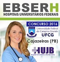 Apostila Concurso EBSERH-PB 2016