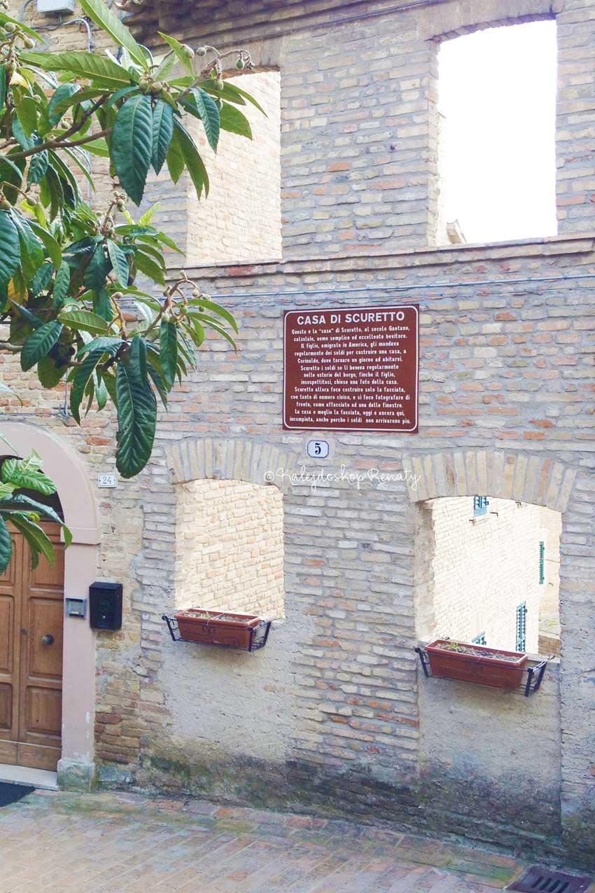 Dom Scuretto - co zobaczyć w Corinaldo