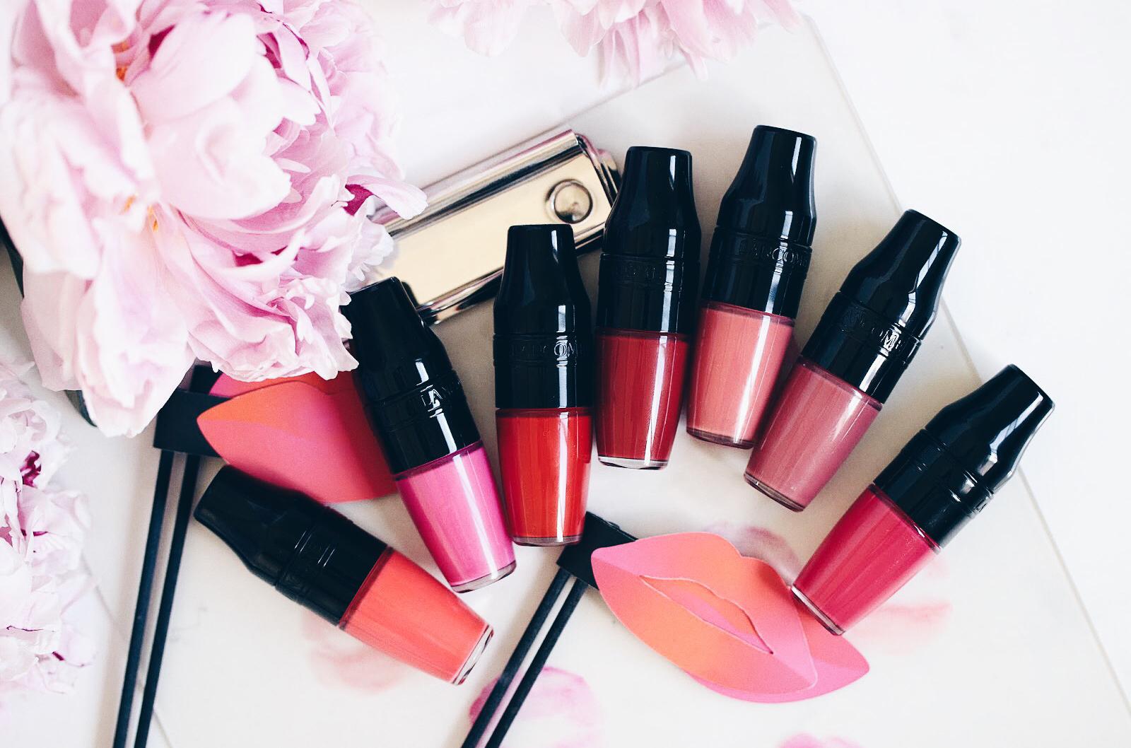 lancôme matte shaker rouge à lèvres mat avis test swatches
