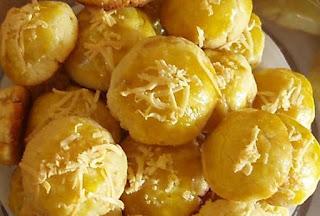 Resep cara membuat kue nastar keju empuk