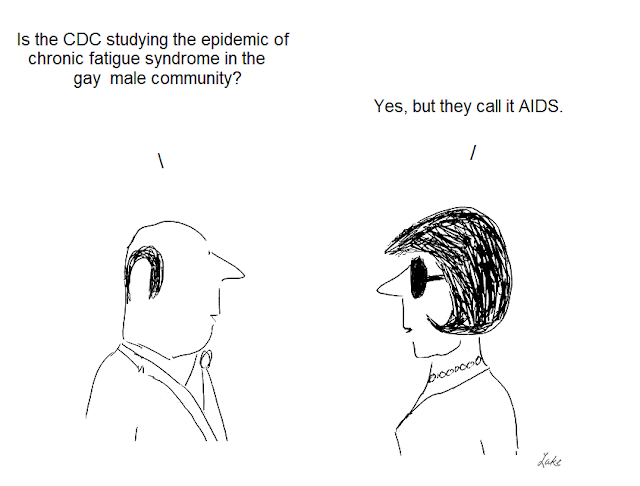 Julian lake, cartoon, cartoons, hhv-6, cdc, fraud, aids, centers for disease control, epidemiology