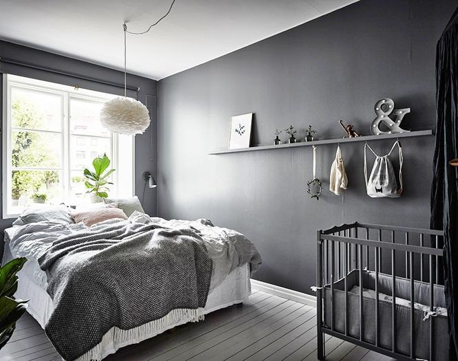 Inspiracje W Moim Mieszkaniu Skandynawskie Mieszkanie Z Modną Szarą