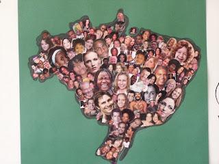 Resultado de imagem para mapa brasil rostos