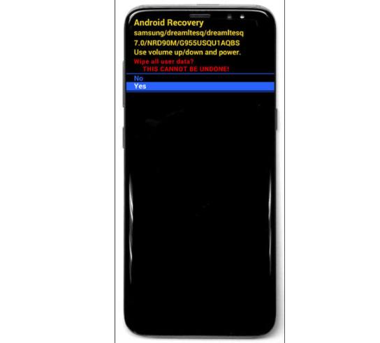 formatear los datos de un Samsung Galaxy s8 y S8+