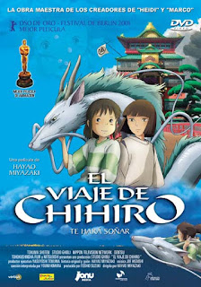 viaje chihiro miyazaki