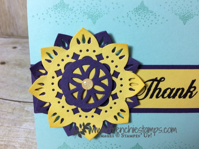 Eastern Beauty, Eastern Medallion Thnlight, Color combination, Stampin'Up!