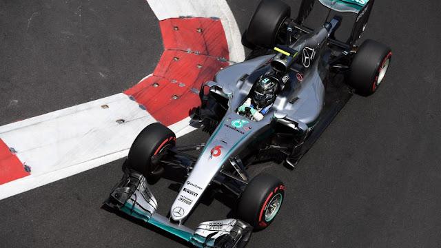 Hasil Kualifikasi F1 Sirkuit Baku : Rosberg Pole, Hamilton 10, Rio Didepan Pascal