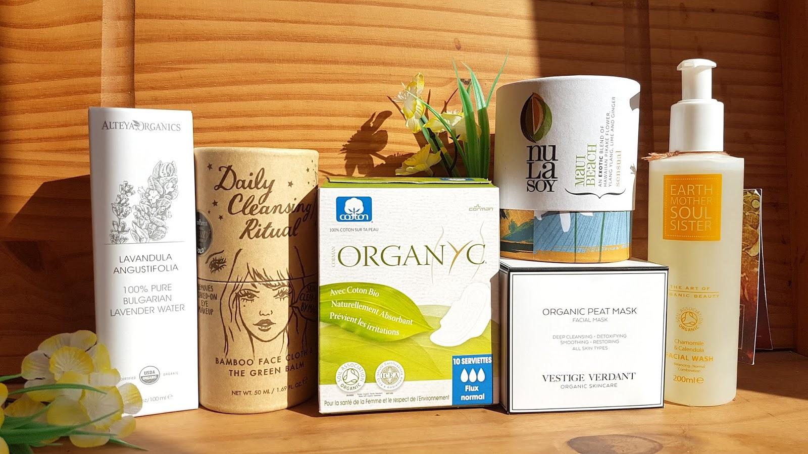 Organyc organic cotton pads