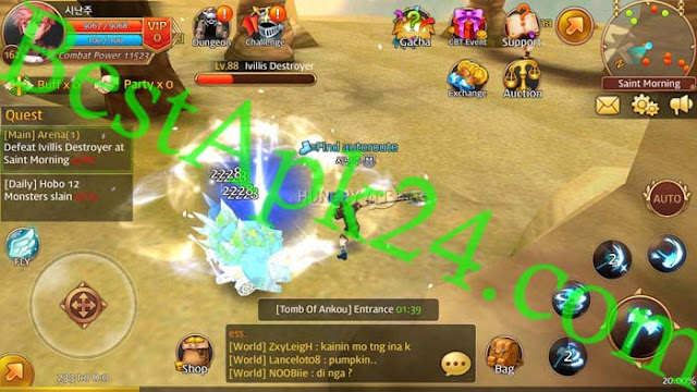 Flyff Legacy MOD APK (God Mode) v2.5.3 Android Game Download4