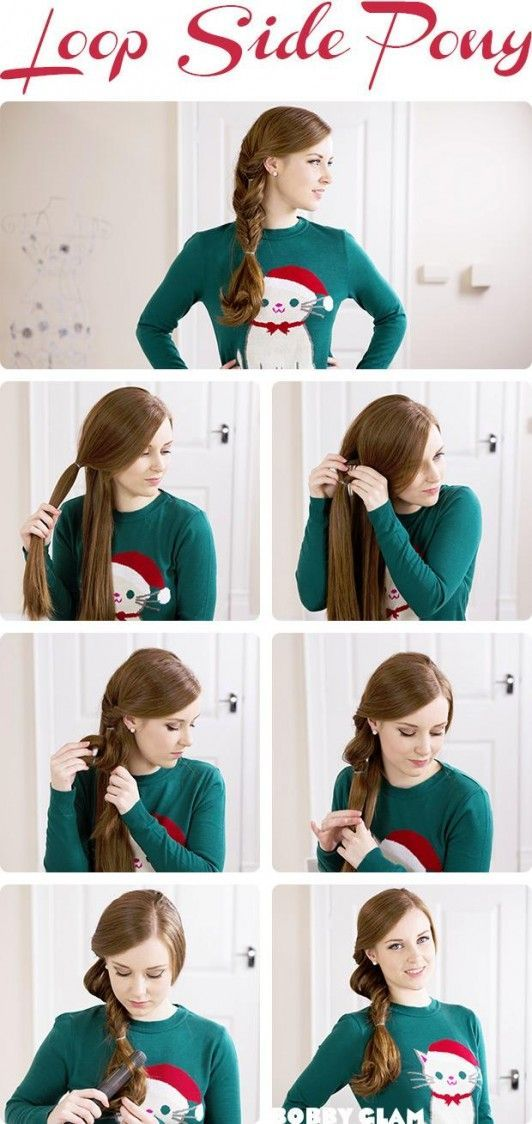 7 cute festive hairstyle ideas 04