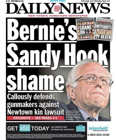 Bernie Sanders Shame