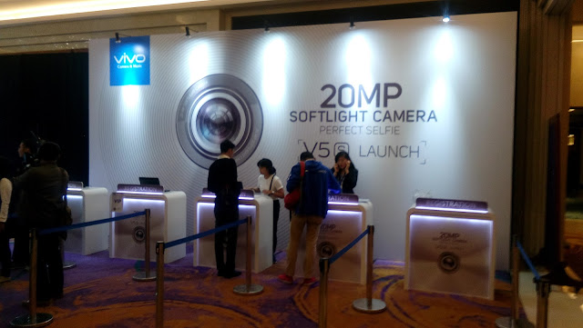 Registrasi Undangan Acara Vivo V5s Launch