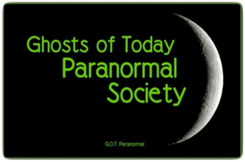 Ghosts of Today Paranormal Society logo