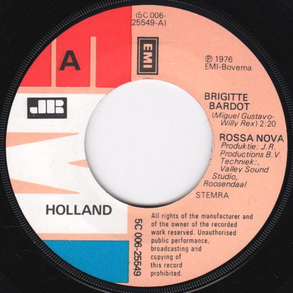 Rossa Nova - Brigitte Bardot - Maria Bonita