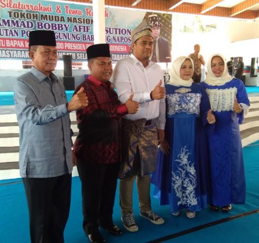Diduga Kampanye, Pertemuan Menantu Jokowi di Rumah Dinas Bupati Labusel Dilaporkan ke Bawaslu