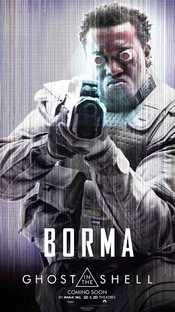 Ghost in the Shell - Borma Character Poster