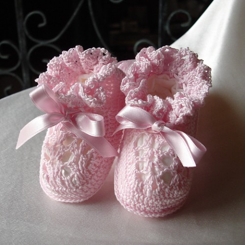 Super Sweet Baby Booties - Free Pattern