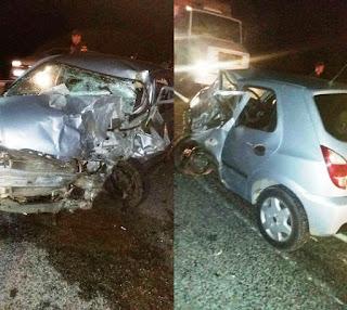 Colisão entre veículos deixa 2 vítimas fatais na BR 230 em Juazeirinho