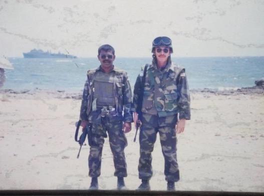 Wajah Anggota Komando Malaysia Dalam Misi Black Hawk Down