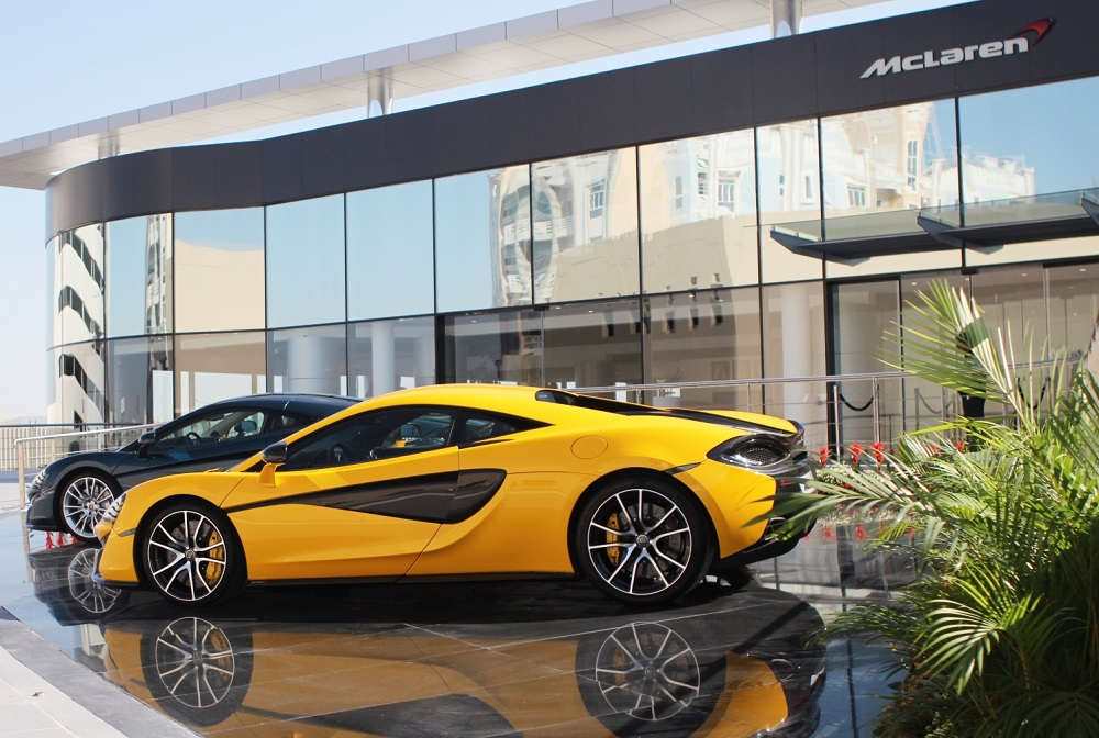 McLaren inaugurates new showroom in Bahrain
